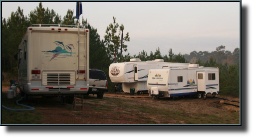 SoilMovers LLC Base Camp at work location