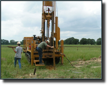 A core drilling machine leaves nothing to chance when it comes to soil testing.